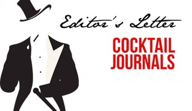 Cocktail Journals - Editor's Letter - October 2014