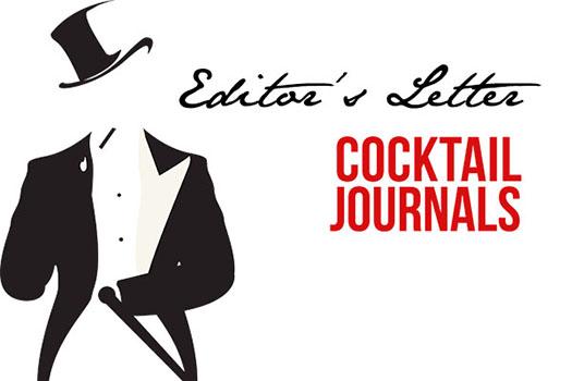 Cocktail Journals - Editor's Letter - October 2014