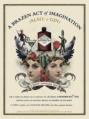 AD: Hendrick's Gin - Cocktail Journals