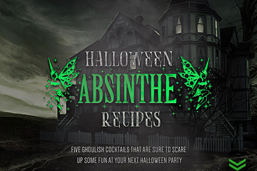 Cocktail Journals - Halloween Absinthe Recipes